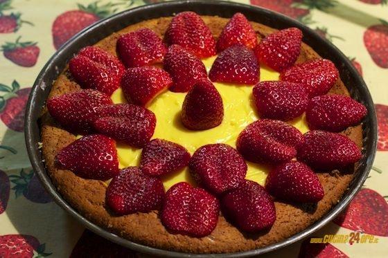 Pasta frolla senza glutine per crostate