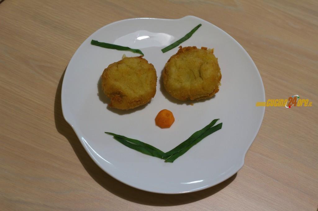 Verdura ai Bambini? Facile con le Crocchette Emoji di Melanzane e Patate Senza Glutine e Poco Sale