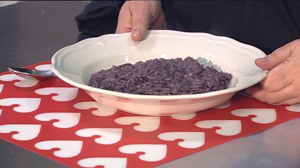 Risotto al Radicchio e Vino Rosso – Primo Vegetariano e Senza Glutine