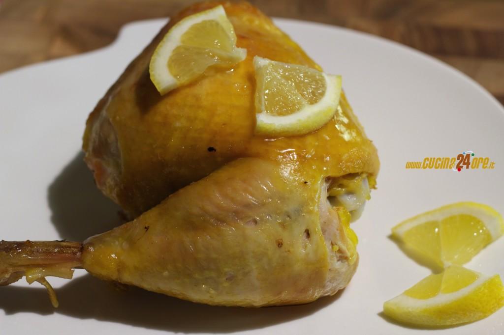 Pollo al Limone in Linea con Gusto