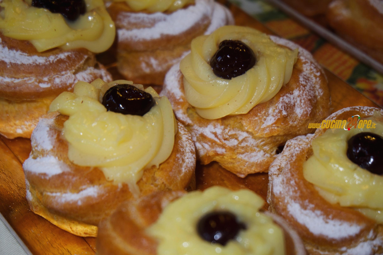 Zeppole di San Giuseppe senza glutine