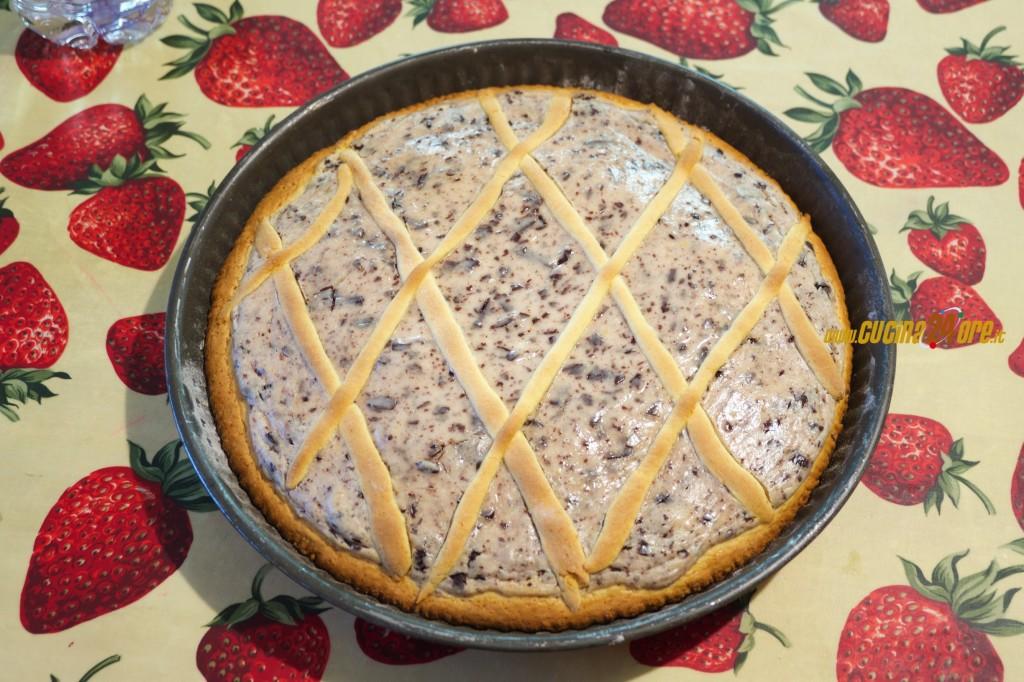 Dieta addio… ma vale lo strappo. La Crostata ricotta e mascarpone al cioccolato senza glutine – FOTO e VIDEO