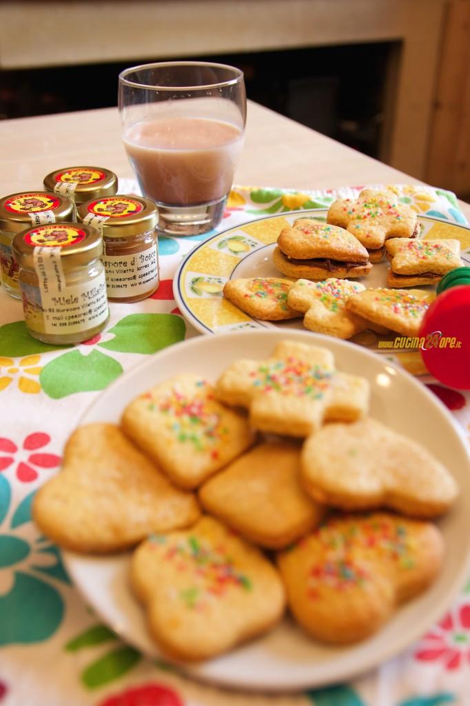 Biscottini con Farina di Farro al Profumo di Limone per Colazioni Sane e Colorate – VIDEO e FOTO
