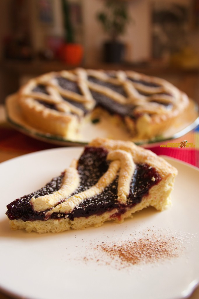 Crostata ai Frutti di Bosco – Senza Glutine. Ricetta Leggera e Facile | Berries Pie – Gluten Free. Light and Easy Recipe