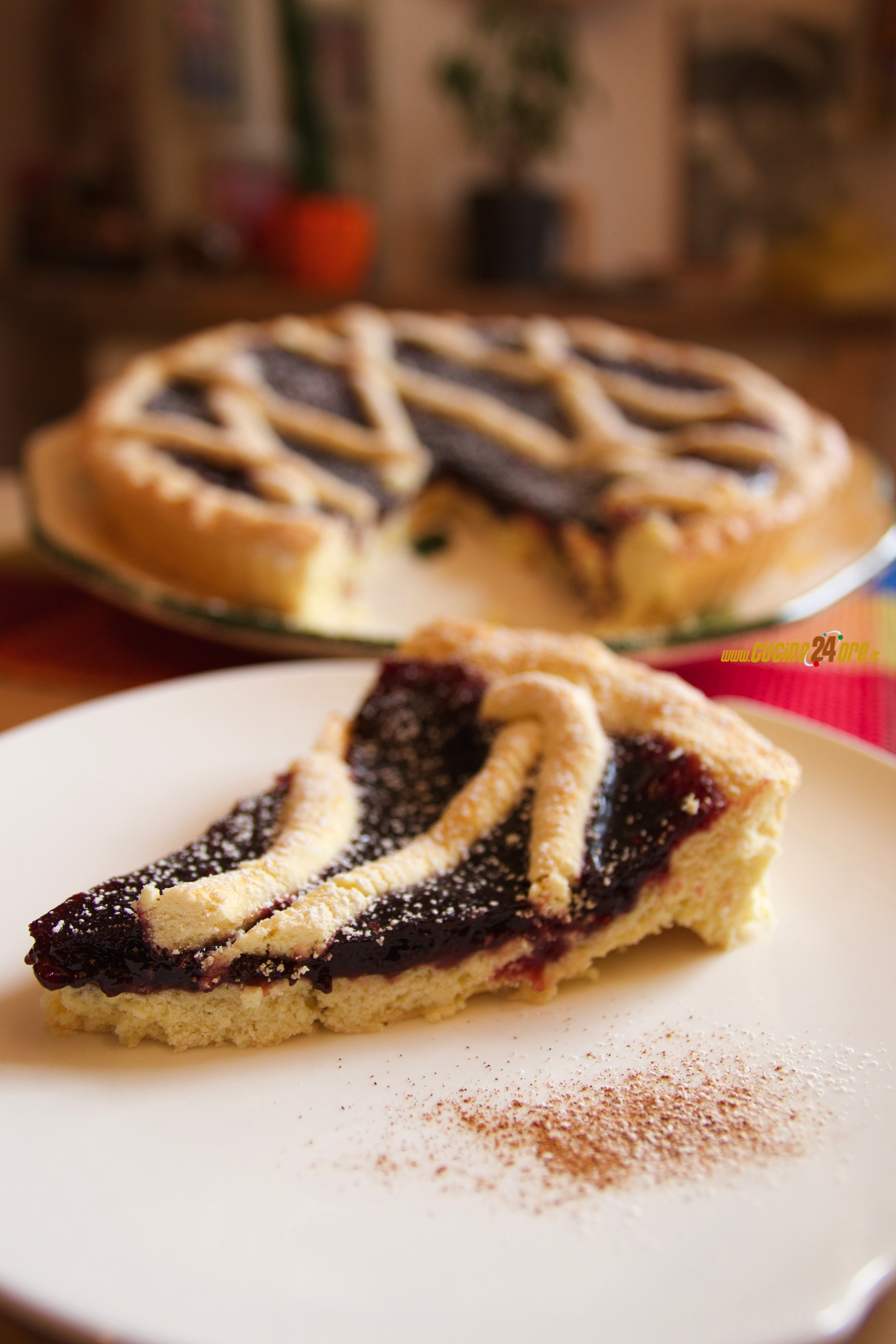 Crostata ai Frutti di Bosco – Senza Glutine. Ricetta Leggera e Facile   Berries Pie – Gluten Free. Light and Easy Recipe