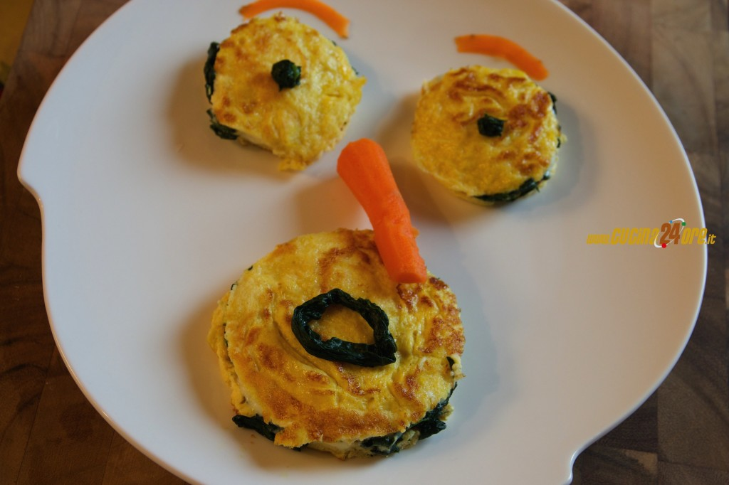 Che Spavento! La Frittata farcita con spinaci e sottilette – FOTO e VIDEO