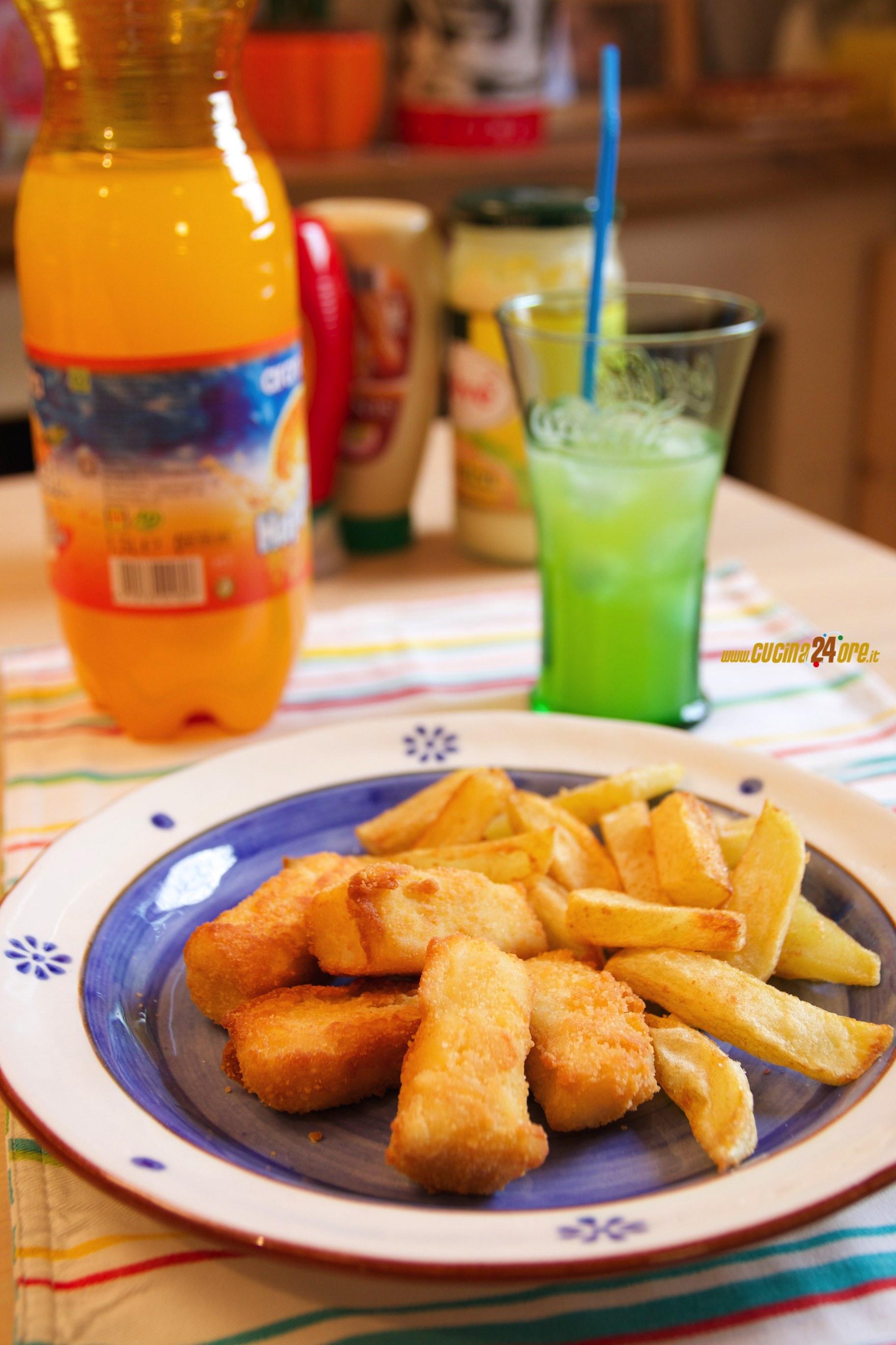 Bastoncini di Pesce Senza Glutine Fatti In Casa con Patate