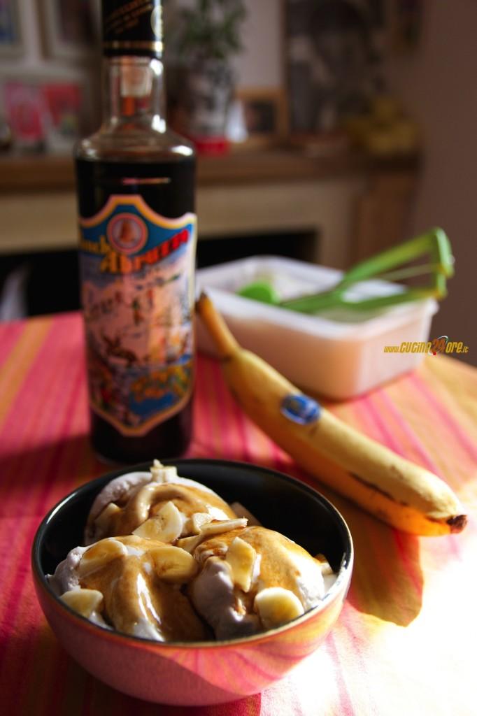 Gelato alla Banana Fatto In Casa Con Punch… o Senza per i Bambini!
