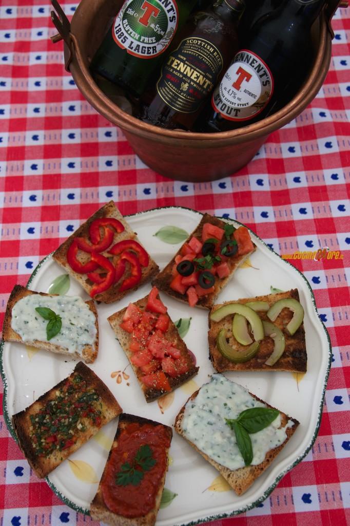 Bruschetta del Pastore con Pane Fatto in Casa… Non la Solita Bruschetta – Anche Senza Glutine
