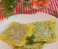 Fazzoletti di Pasta con Ricotta e Piselli – Primo Light, Anche Senza Glutine