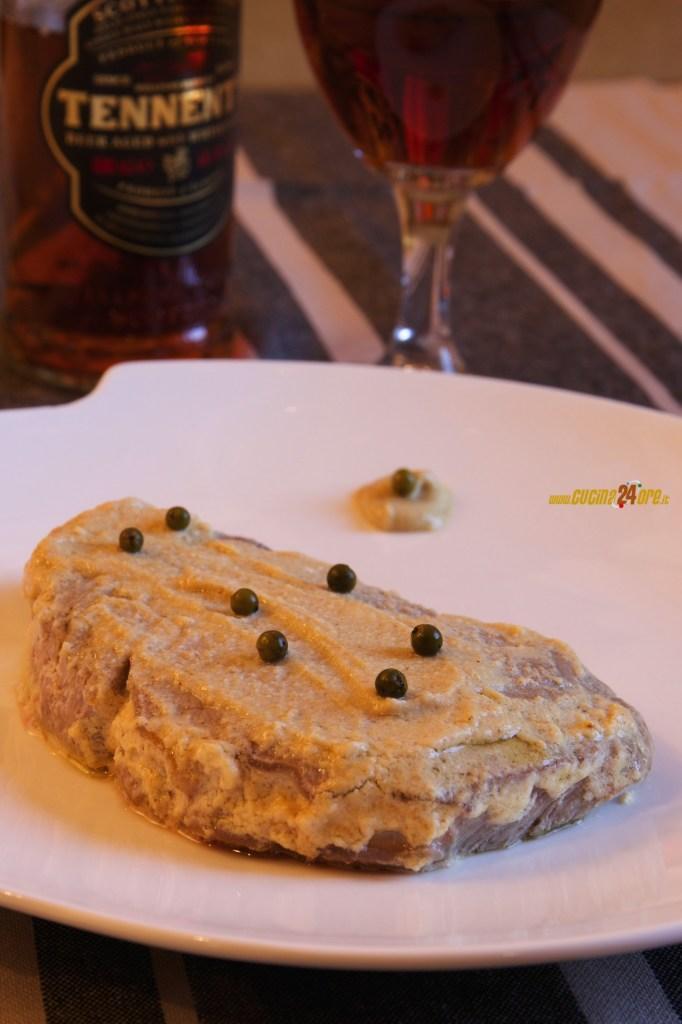 Filetto di Manzo al Brandy e Senape Delicata – Secondo Piatto Senza Glutine
