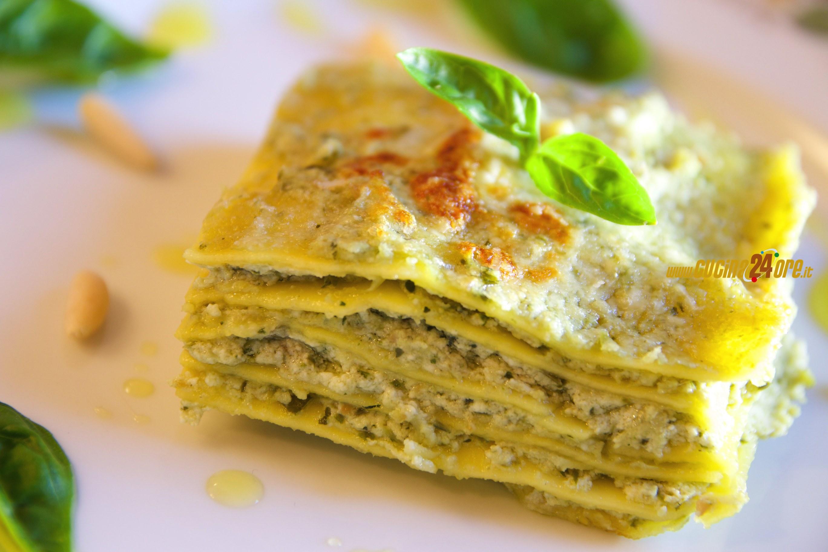 Lasagne al Pesto e Ricotta – Light e Anche Senza Glutine