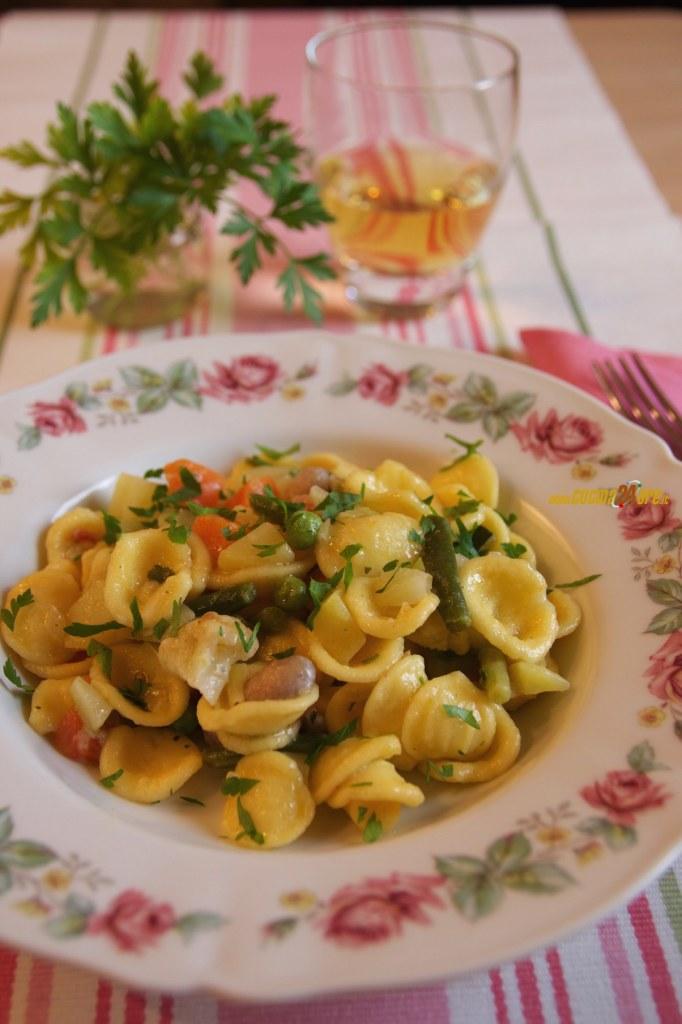 Minestrone Super Più! Le Orecchiette con Verdure Miste – Primo Vegetariano Senza Glutine