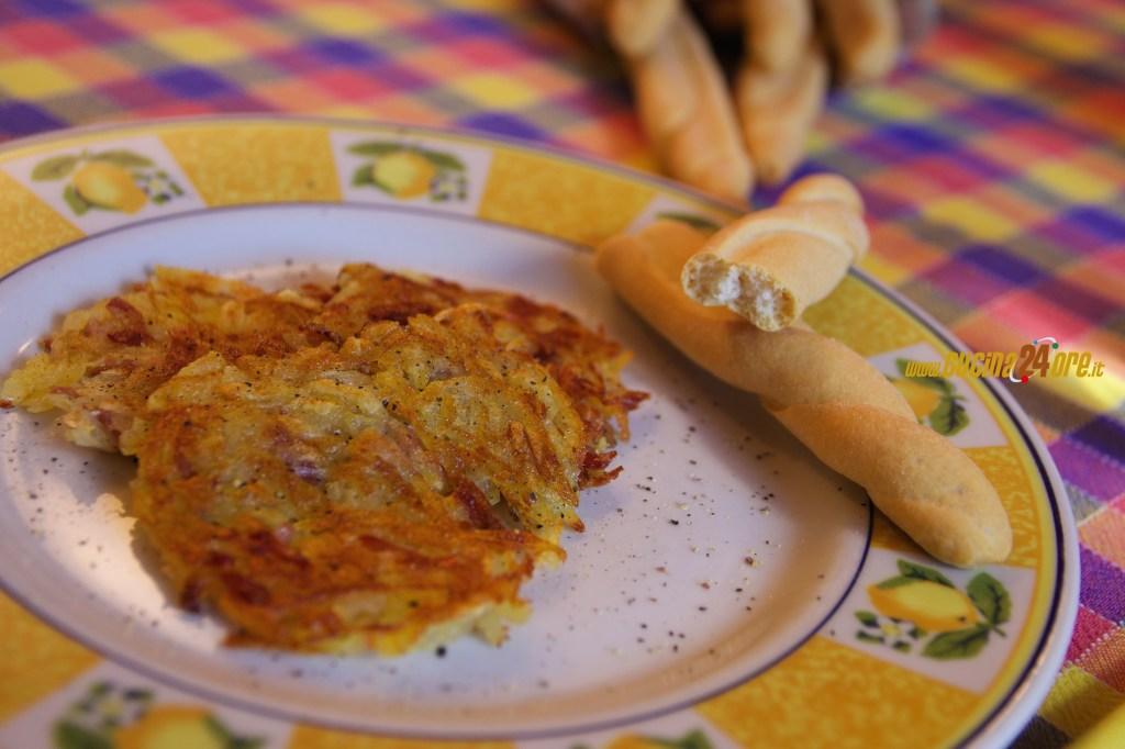 Rosti Patate e Prosciutto – Contorno Senza Glutine Buono Per Tutti