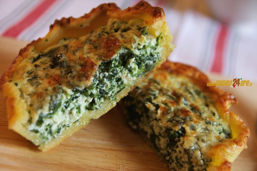 Tortini Ricotta e Spinaci – Antipasto Vegetariano Senza Glutine