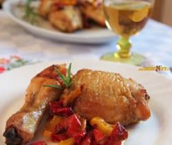 Pollo Veloce e Gustosissimo con Peperoni Sottaceto. Anche Senza Glutine