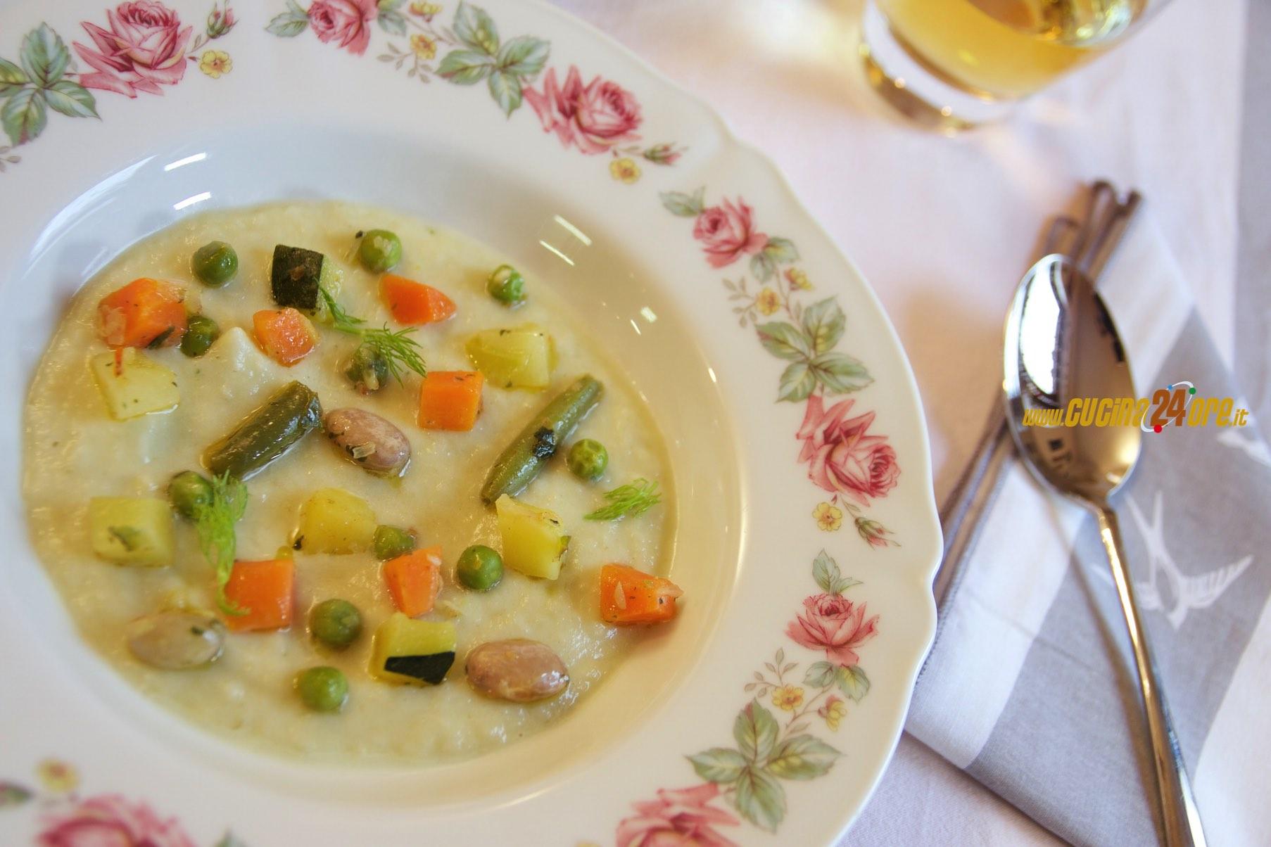 Crema di Finocchi con Verdure e Crostini Integrali – Antipasto Light Vegetariano e Depurativo