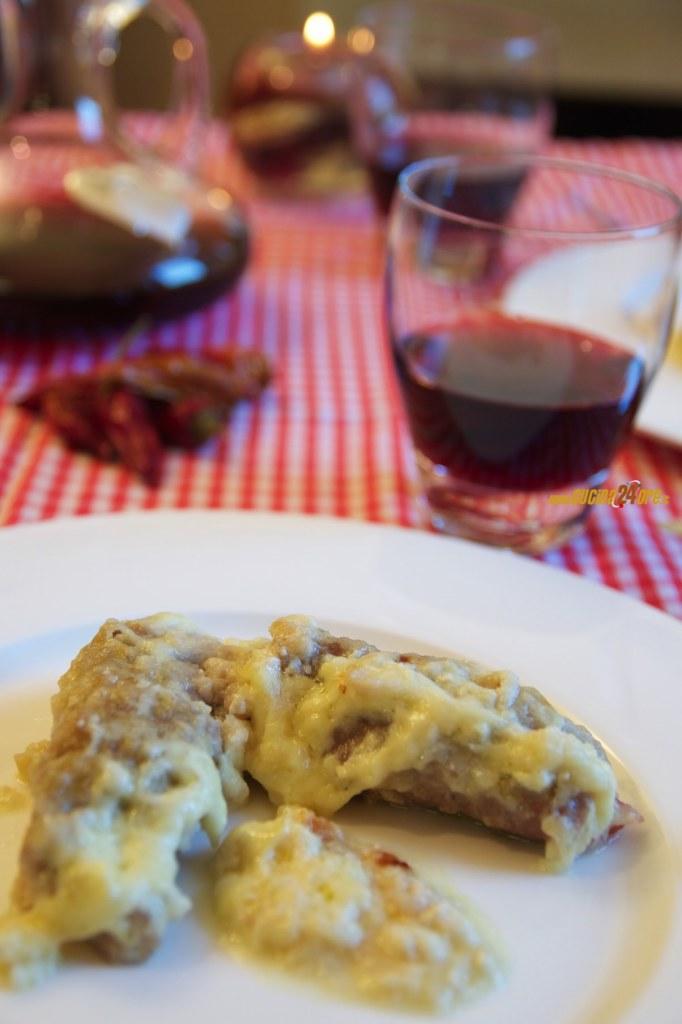 INVOLTINI con FORMAGGIO e PROSCIUTTO – Ricetta Veloce e Senza Glutine – Cheese and Ham Rolls Recipe