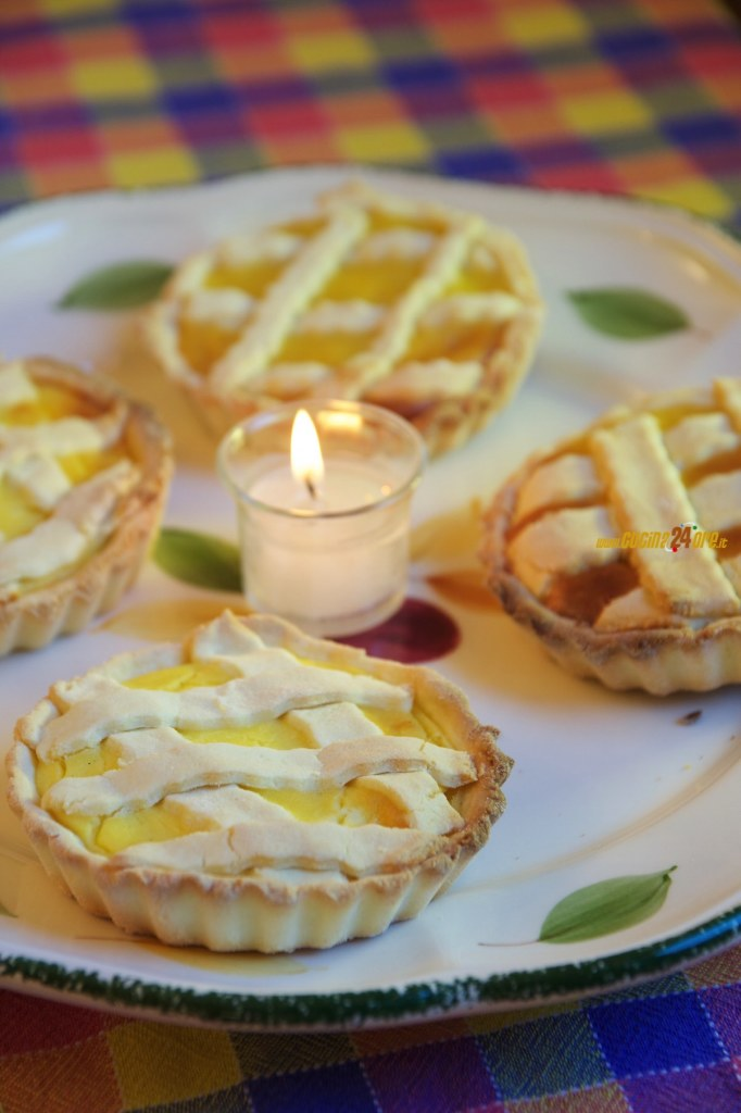 Crostatine Crema e Ricotta con Farina di Riso Senza Glutine e Nichel – Leggere Delizie