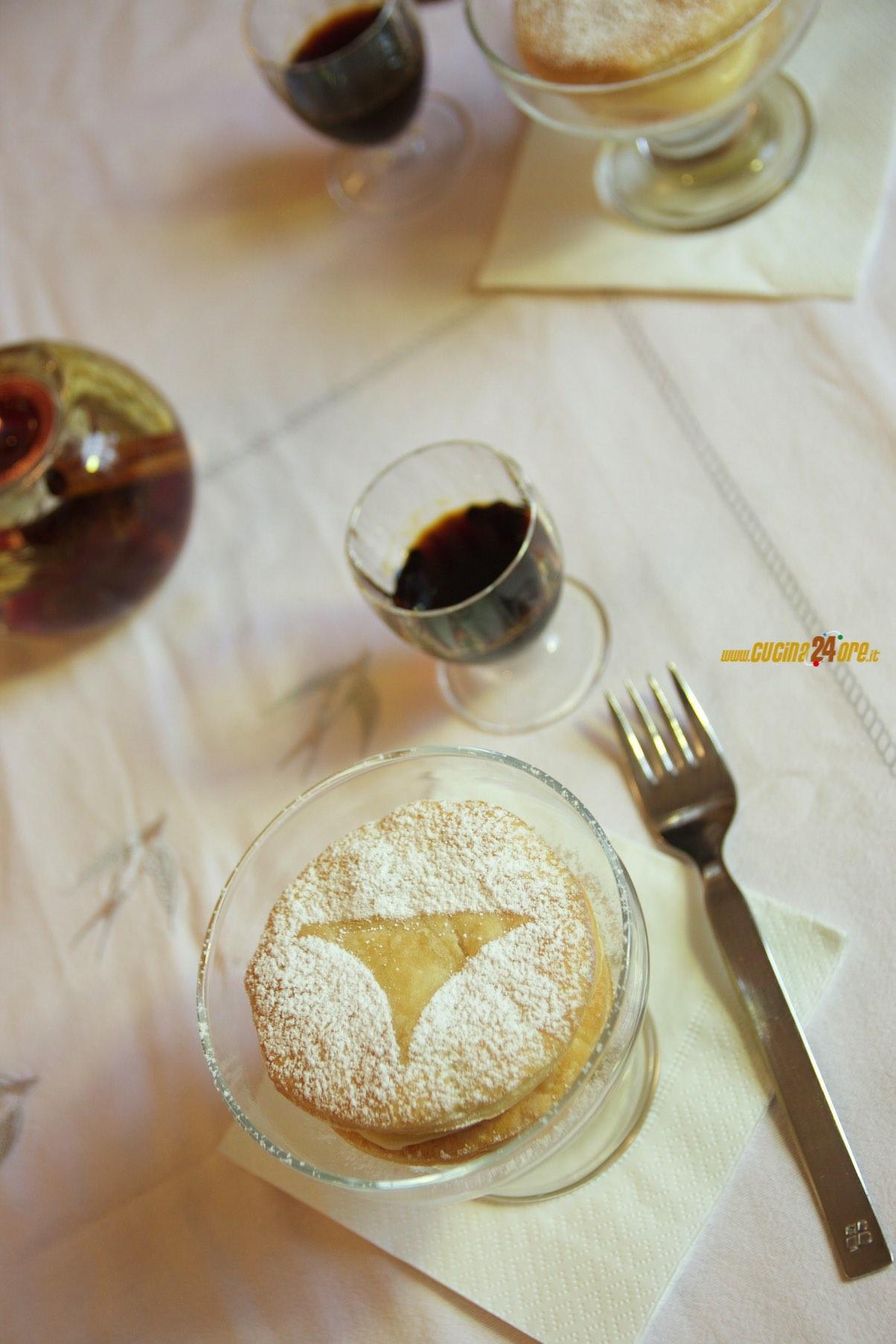 Dolce di Natale, il Millefoglie al creme caramel senza glutine – Dessert velocissimo