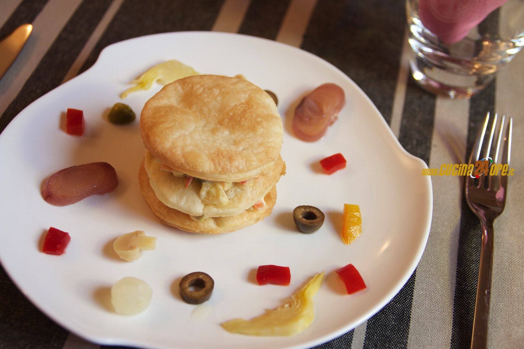 Millefoglie Salato Senza Glutine alle Verdure | Mille Feuille Salad with Vegetables GlutenFree