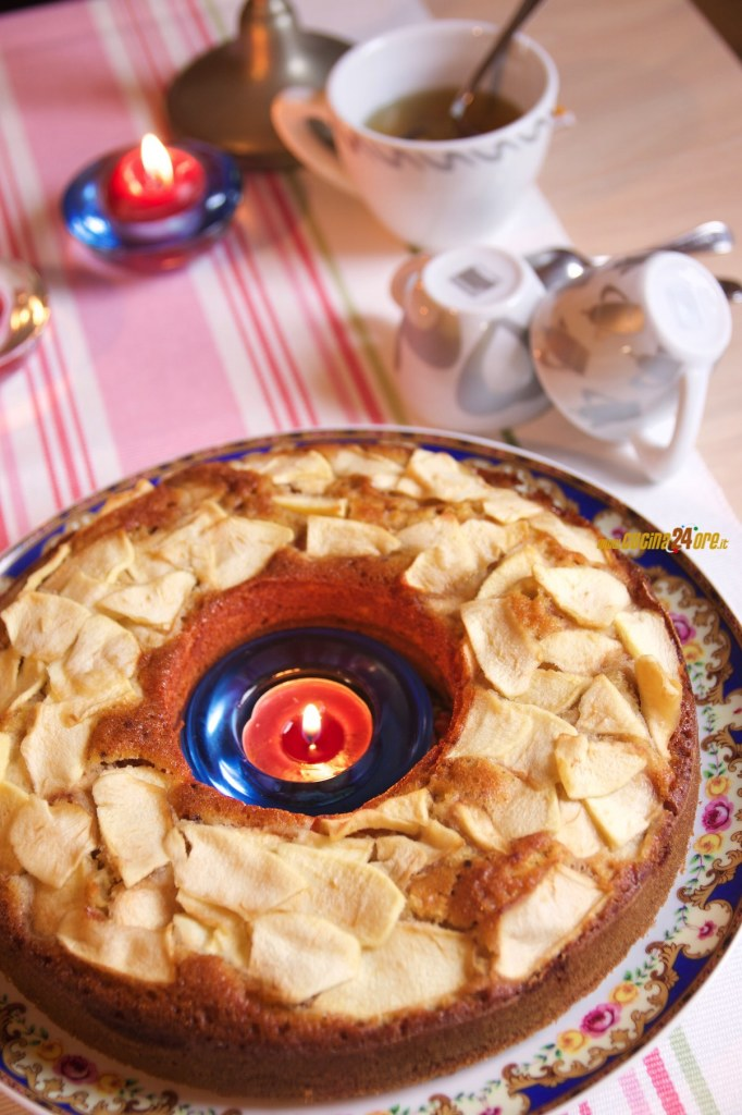 Ciambellone con Farina di Riso alle Mele Senza Nichel, Glutine e Lievito – Dessert Leggero