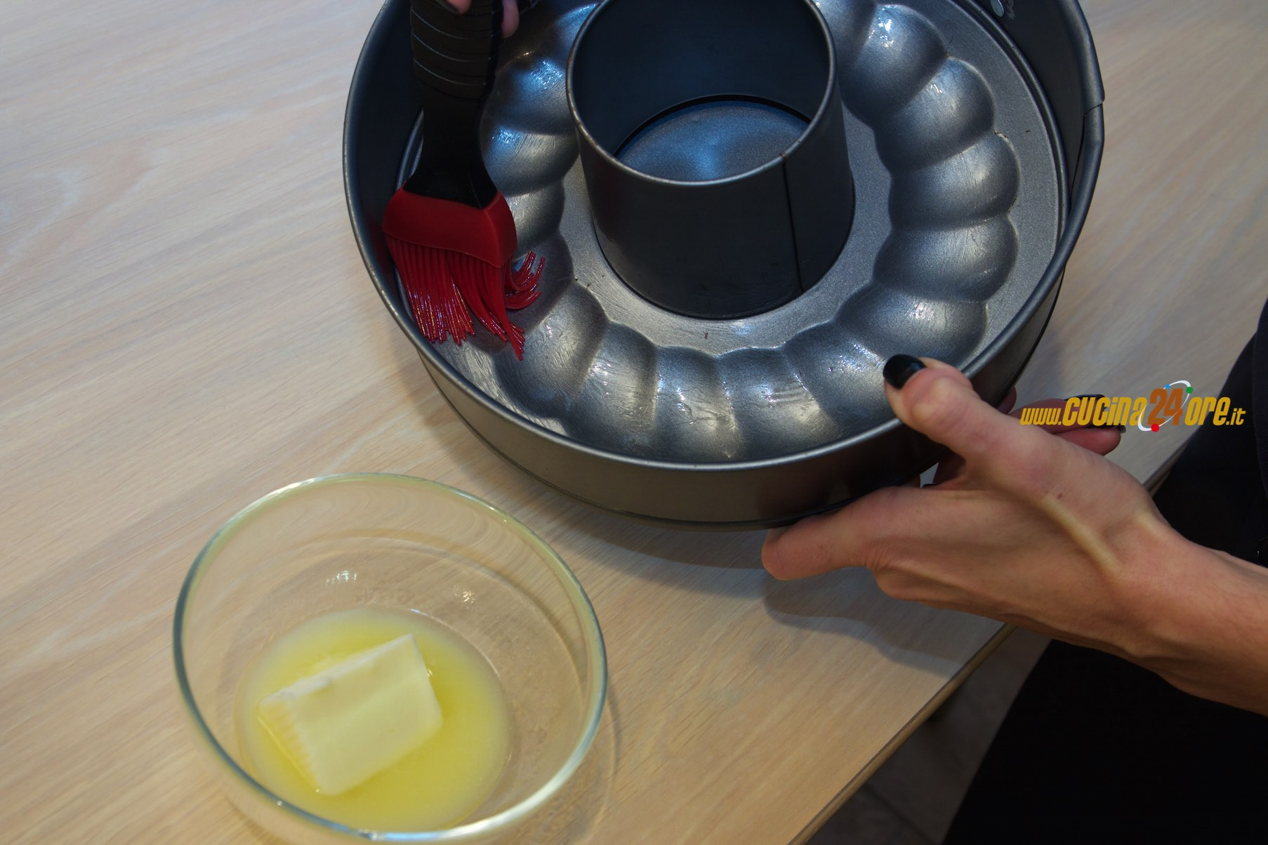 ciambellone farina riso mele nichel gluten free senza ...
