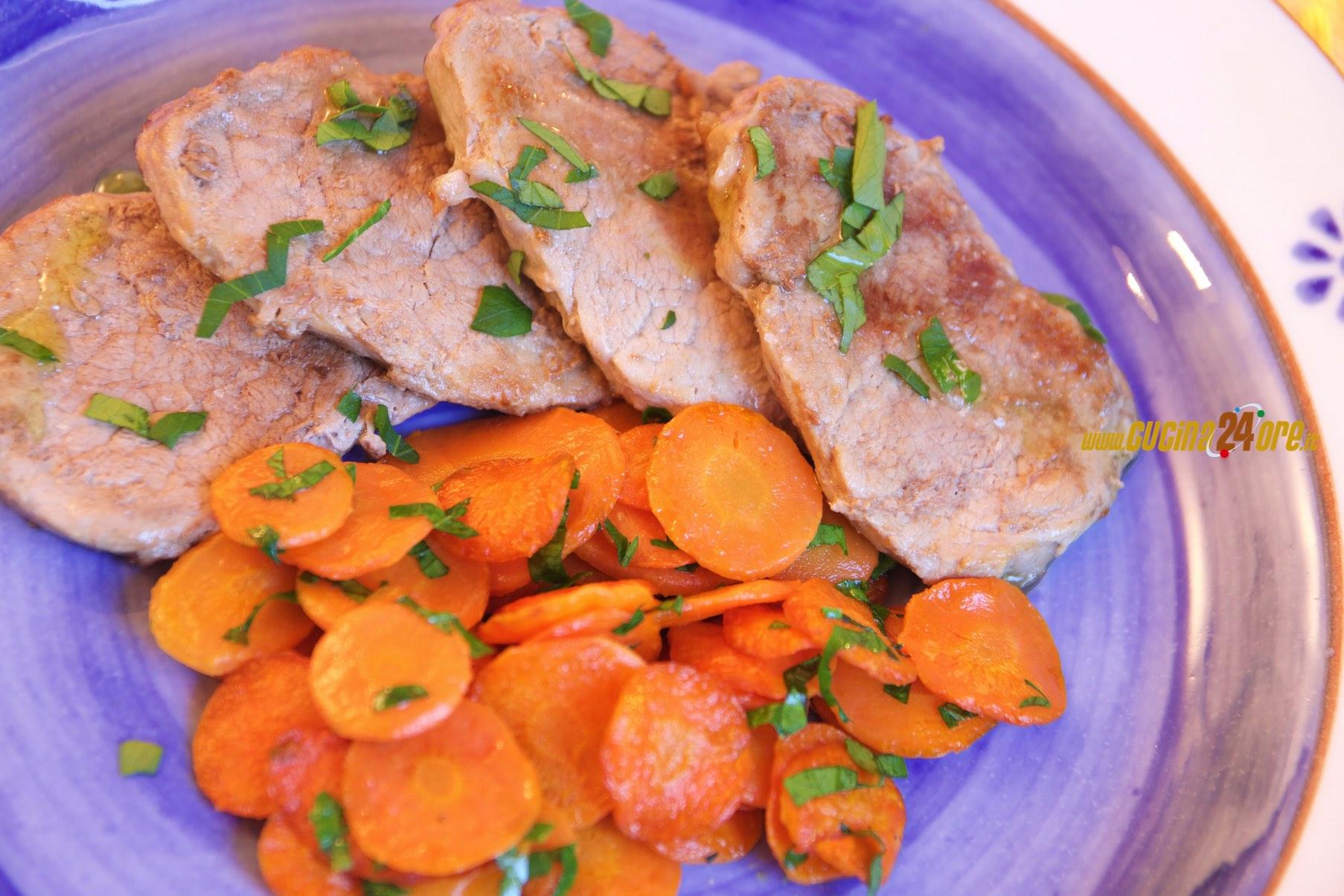 Lonzino di Maiale con Carote al Prezzemolo | Ricetta facile, Sana e Veloce – Senza glutine