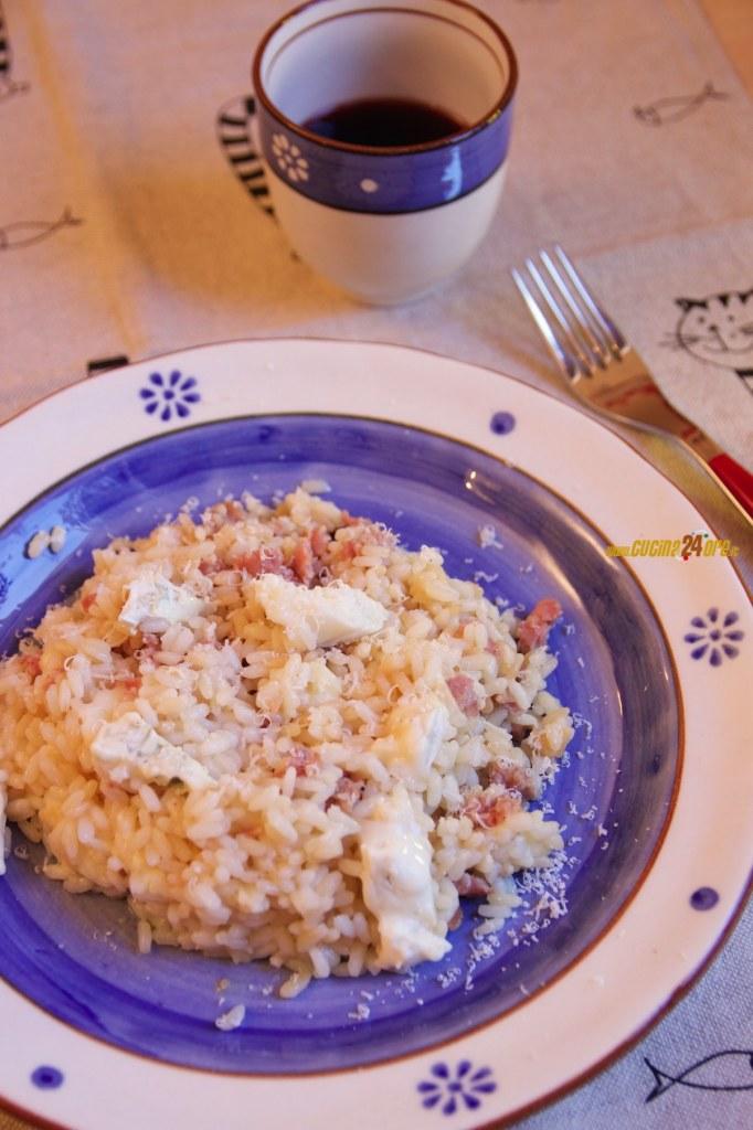 RISOTTO SALSICCIA e GORGONZOLA – Ricetta Veloce e Senza Glutine – Sausage and Gorgonzola Rice