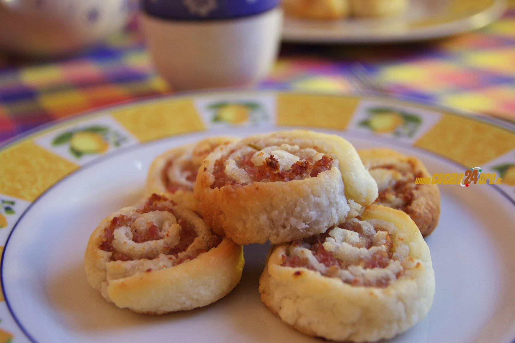 Girelle alla Ventricina Finger Food Rustico Senza Glutine