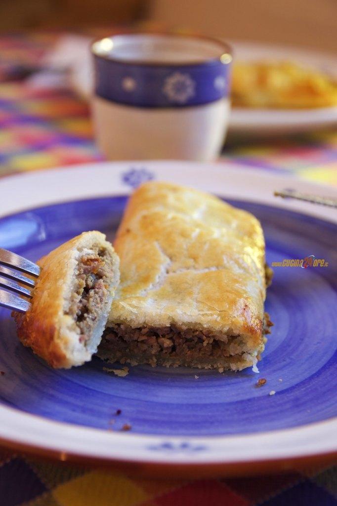 Strudel Salato con Crema di Lenticchie e Salsicce – Finger Food Anche Senza Glutine