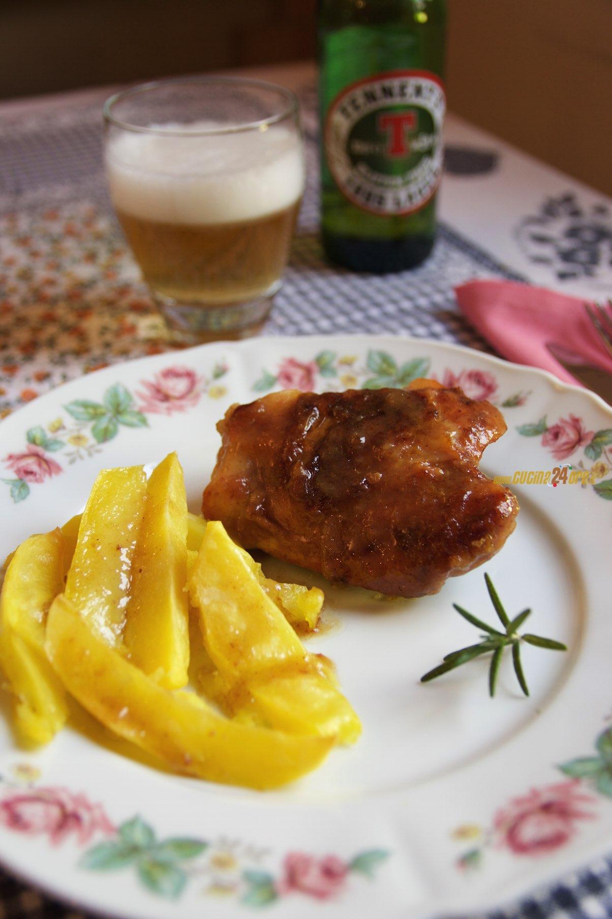 Pollo alla Birra Senza Glutine