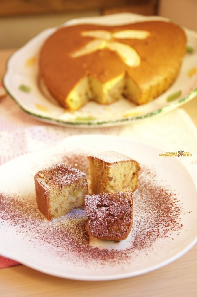 Torta Leggera per San Valentino alle Mele con Farina di Riso Senza Glutine, Lievito e Nichel