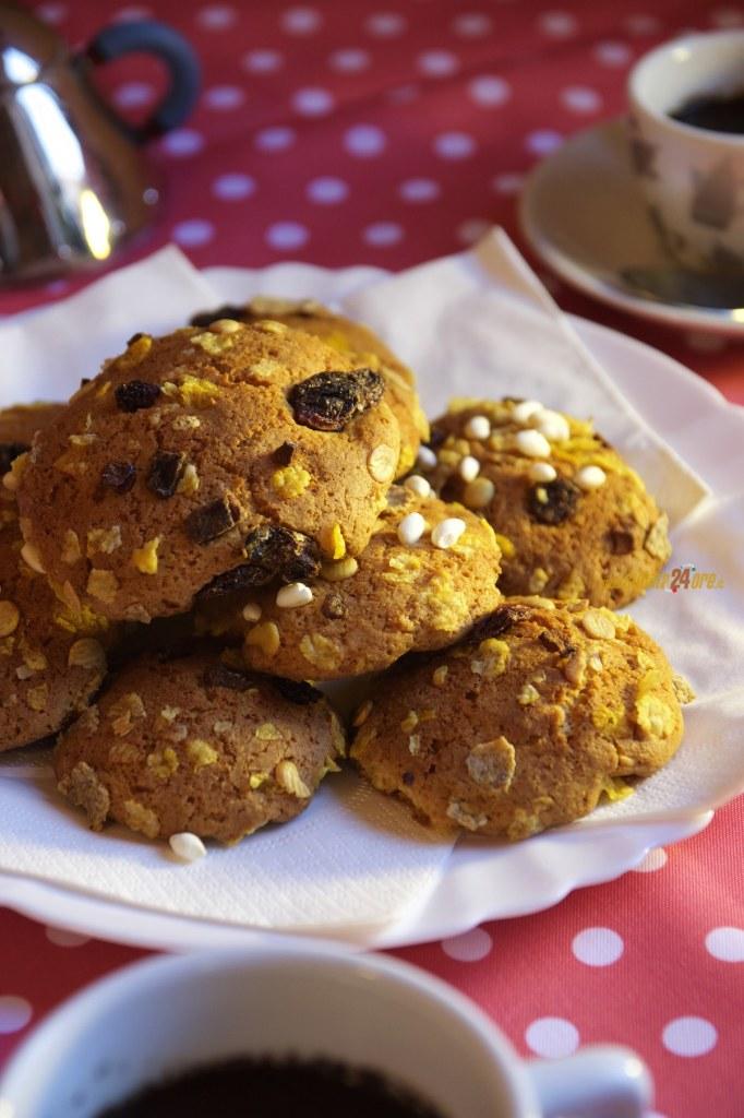 Biscotti al Muesli e Riso Soffiato Anche Senza Glutine