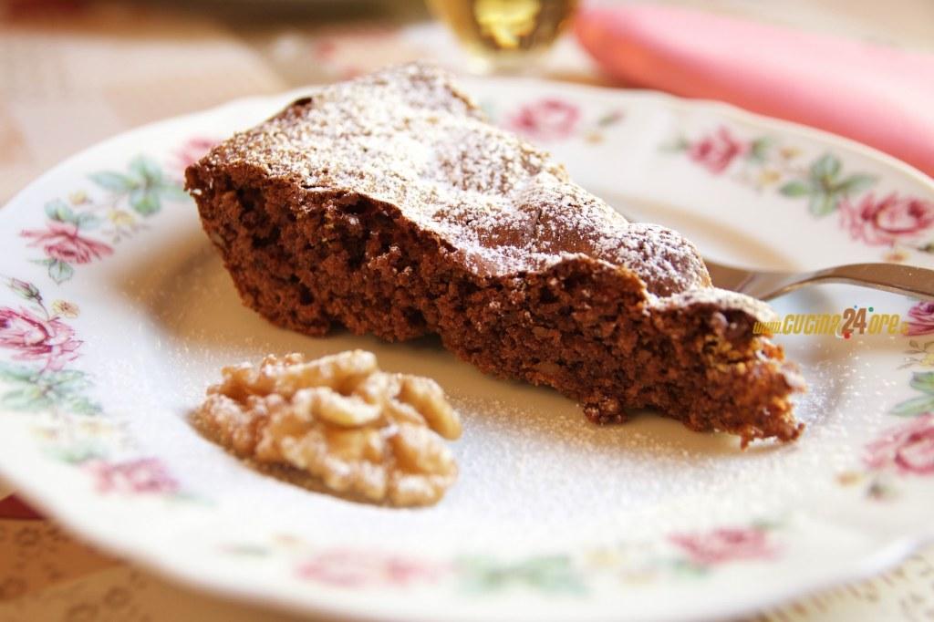 Torta al Cioccolato e Noci (Anche Senza Glutine)