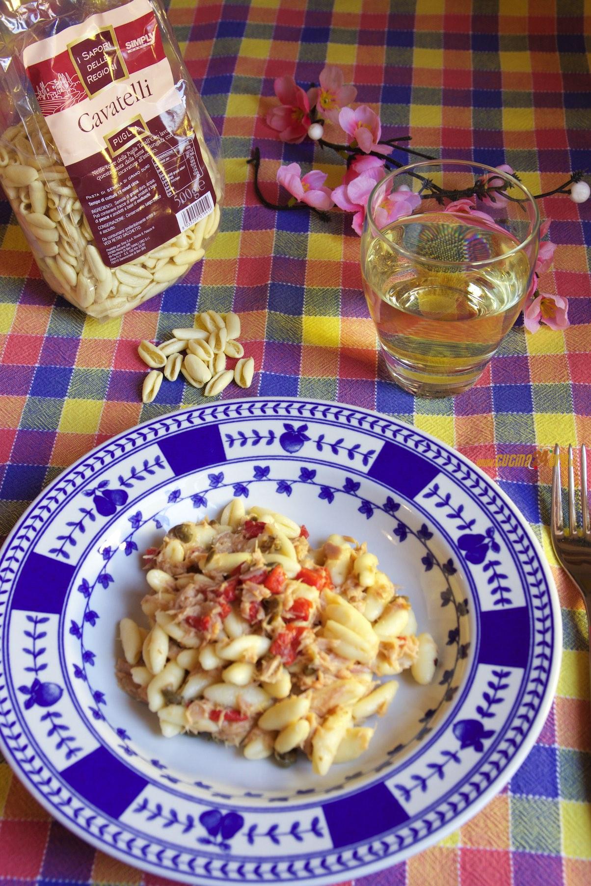 Cavatelli Tonno, Peperoni, Capperi – La Pasta Per l'Estate in 10 Minuti