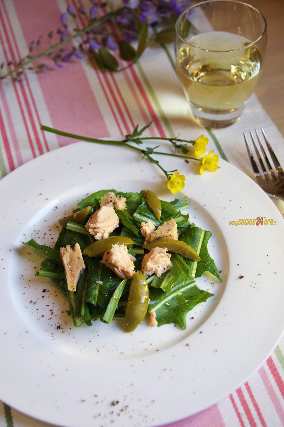 Insalata di Salmone, Olive e Rucola