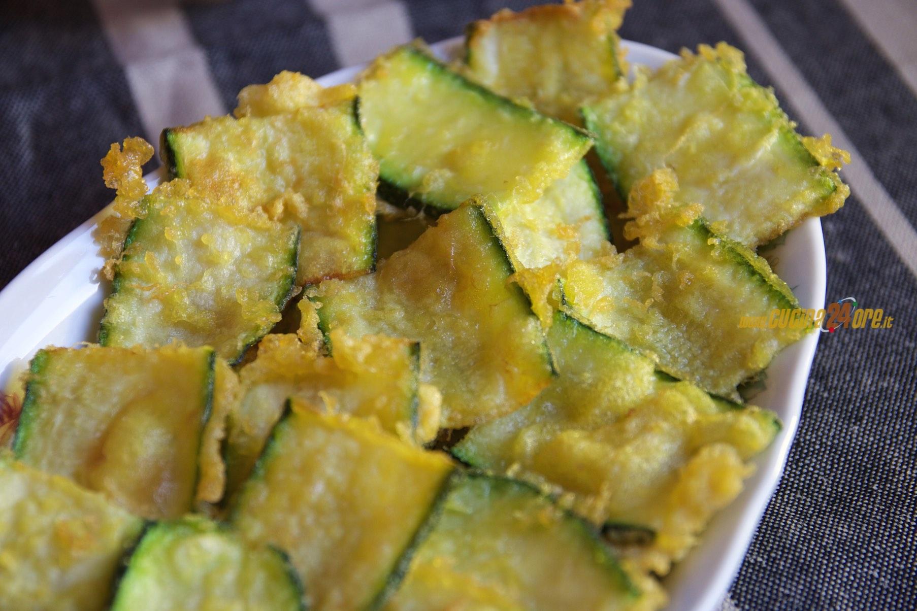 Zucchine Fritte Senza Glutine