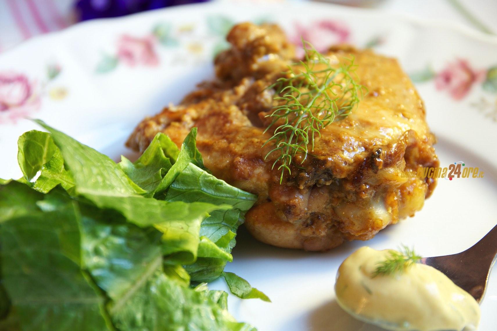 Pollo Marinato Con Senape e Finocchietto Selvatico – Ricetta Salva-Cena Improvvisa
