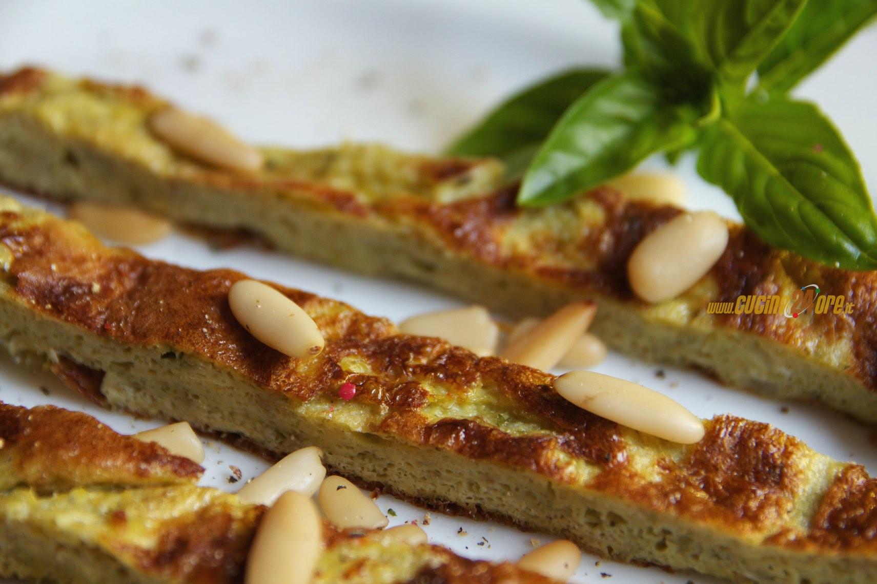 Frittata Al Pesto Di Basilico – Secondo Sostanzioso Per L'Estate