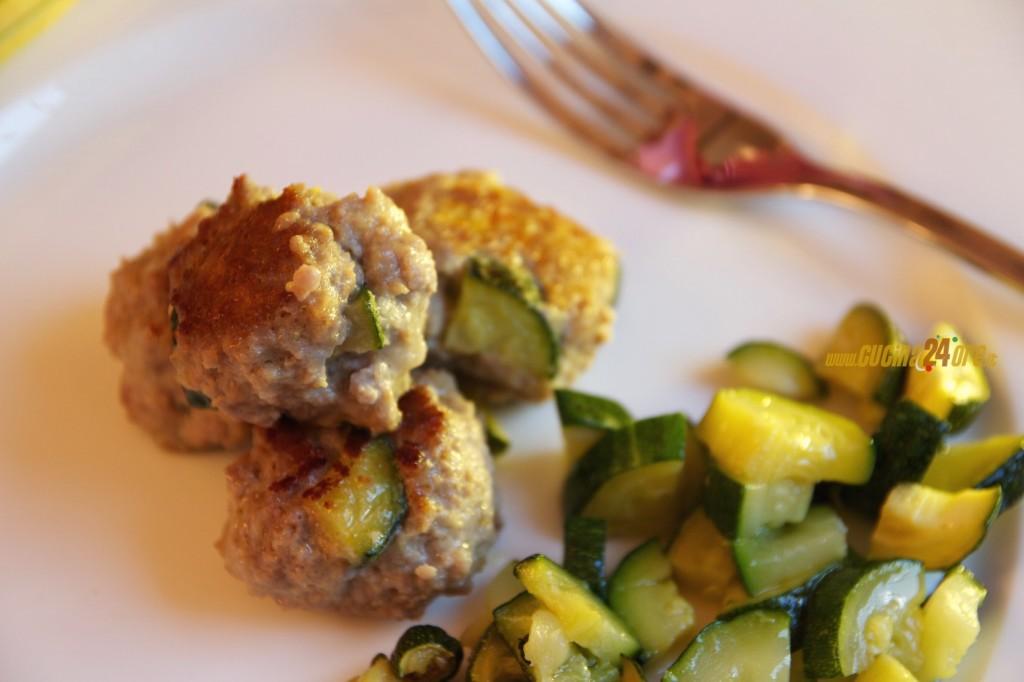 Polpettine di Carne con Zucchine, Morbide e Saporite, Senza Nichel e Glutine – FOTO e VIDEO