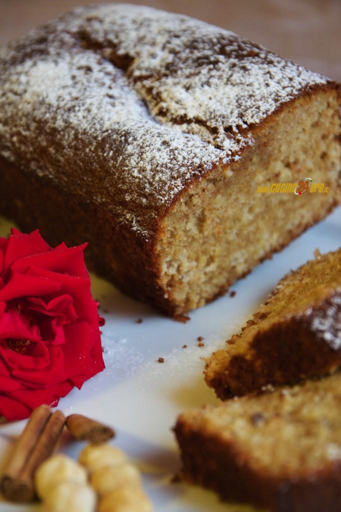 Plumcake Nocciole e Cannella Senza Glutine