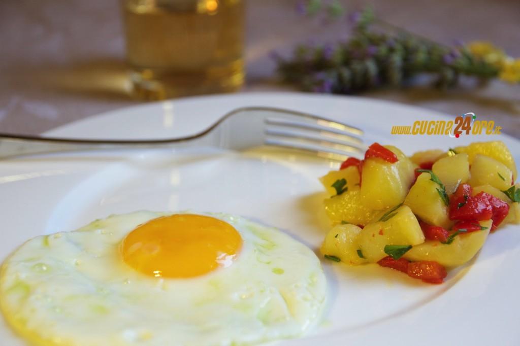 Patate al Microonde Con Peperoni Arrostiti e Prezzemolo – Contorno Light