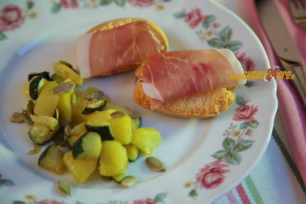 Dadolata Di Patate e Zucchine Ai Semi di Zucca – 3 Modi Per Tostare I Semi Di Zucca – FOTO e VIDEO