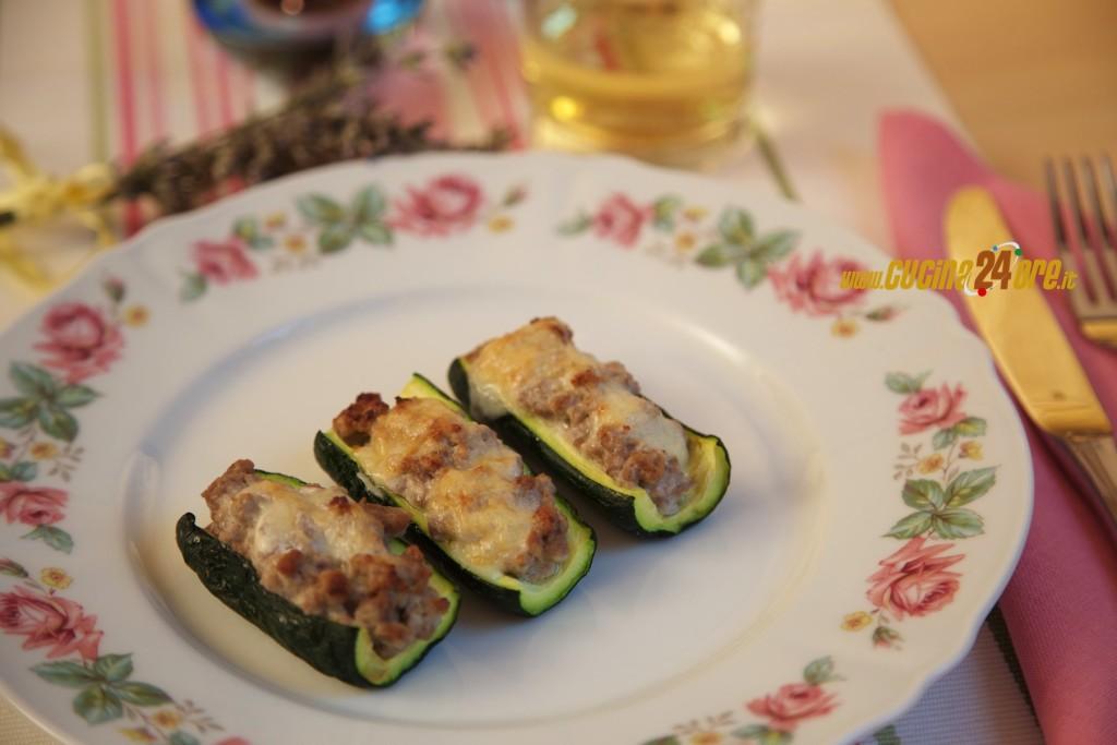 Zucchine Filanti con Ripieno Cremoso Senza Glutine e Nichel