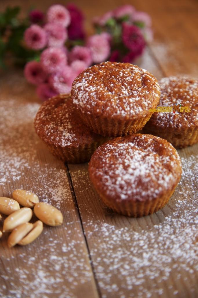 Muffin Alle Arachidi Con Fruttosio Senza Glutine