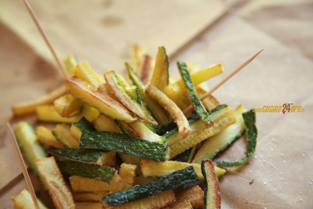 Bastoncini di Zucchine Croccanti – Finger Food anche Senza Glutine e Nichel