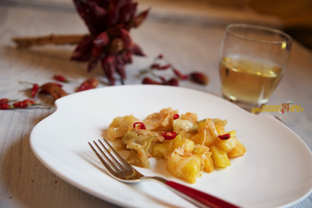 Cavolo e Patate Alla Paprika – Contorno Vegetariano Stuzzicante