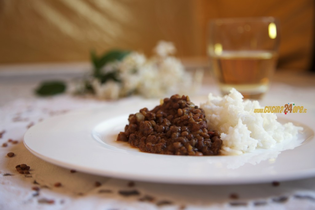 Riso Basmati Con Lenticchie al Curry – Piatto Unico Vegetariano