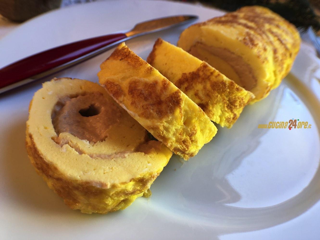Tuna Roll – Rotolo di FRITTATA al TONNO Ricetta Facile Senza Glutine – Easy Recipe Gluten Free